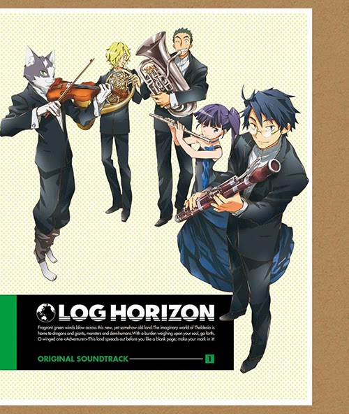 LOG HORIZON ORIGINAL SOUNDTRACK 1